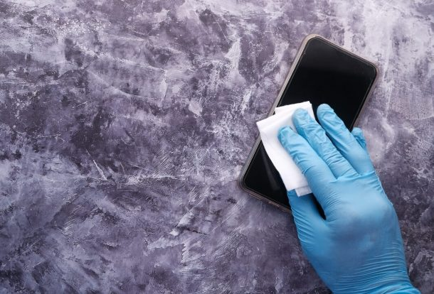 Cleaning and Disinfecting a Cell Phone Orchid Cleaning Services
