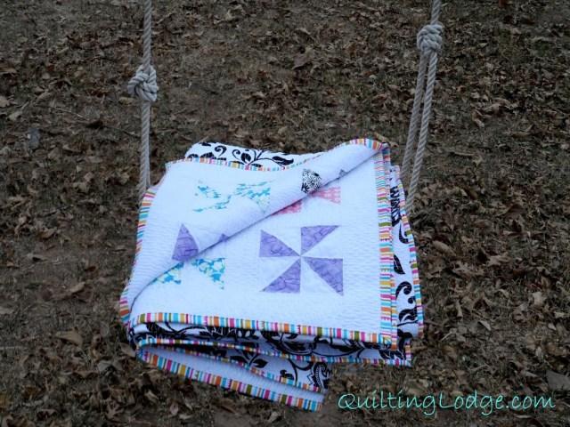 Quilting Lodge Pinwheel Quilt