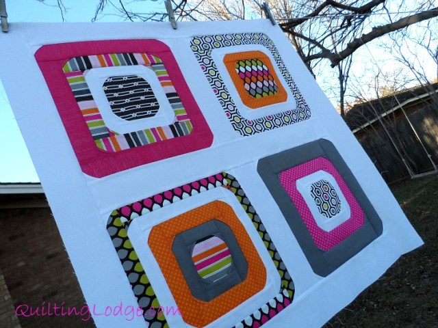Quilting Lodge Curvy Square Blocks