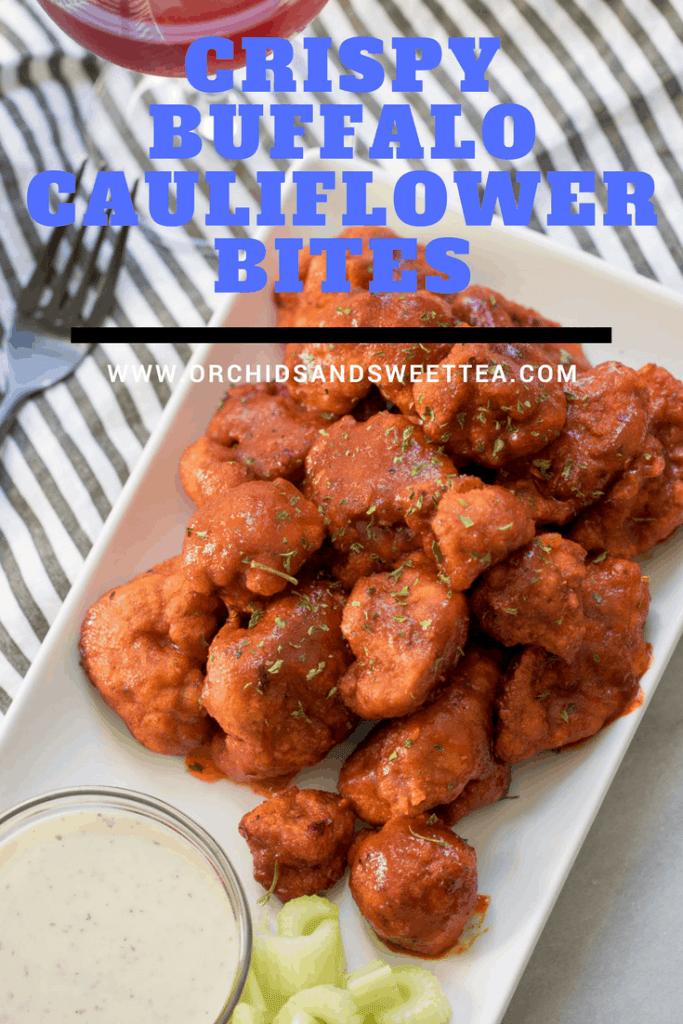Crispy Buffalo Cauliflower Bites
