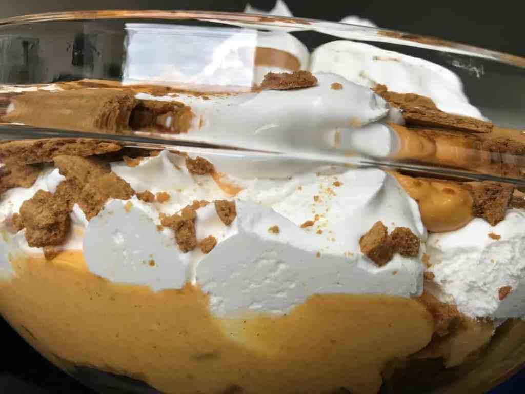 Pumpkin Cheesecake + Ginger Snap Trifle