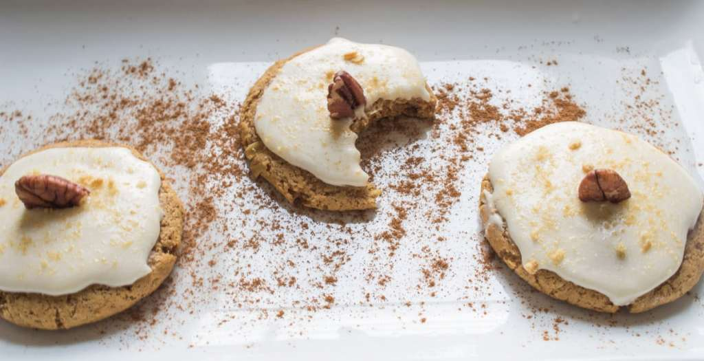 Pumpkin Cheesecake Vegan Cookies