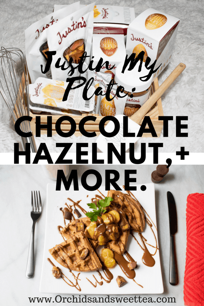 Justin My Plate: Chocolate Hazelnut, Peanut Butter Cup, + Almond Butter
