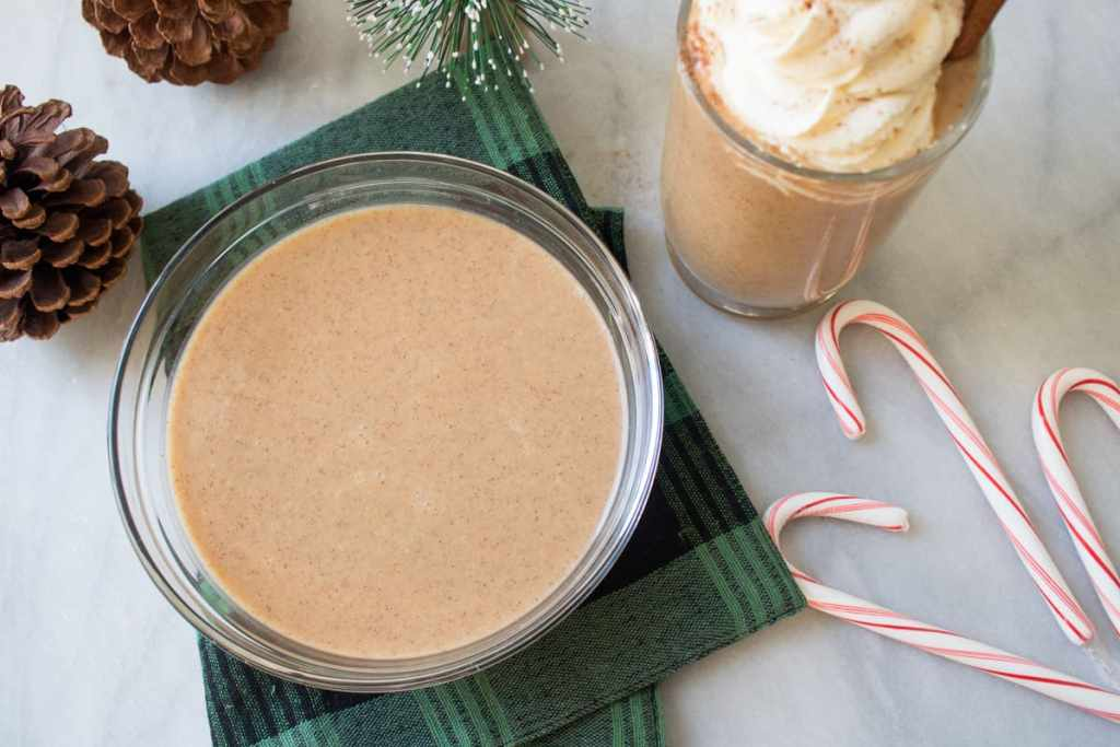 Dairy-free Gingerbread Men + Spiced 'Eggless' Eggnog