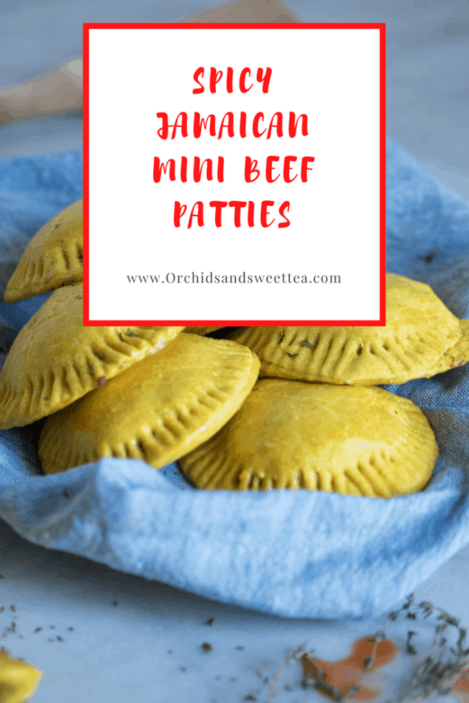 Spicy Jamaican Mini Beef Patties
