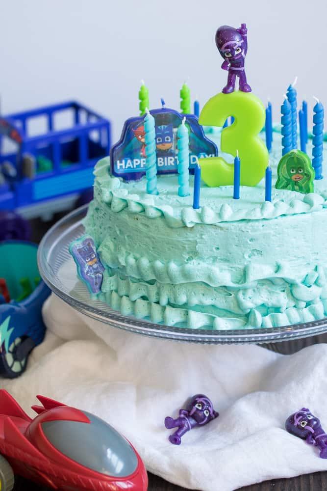 Fluffy Buttery Vanilla Birthday Cake Milestone 3 Orchids