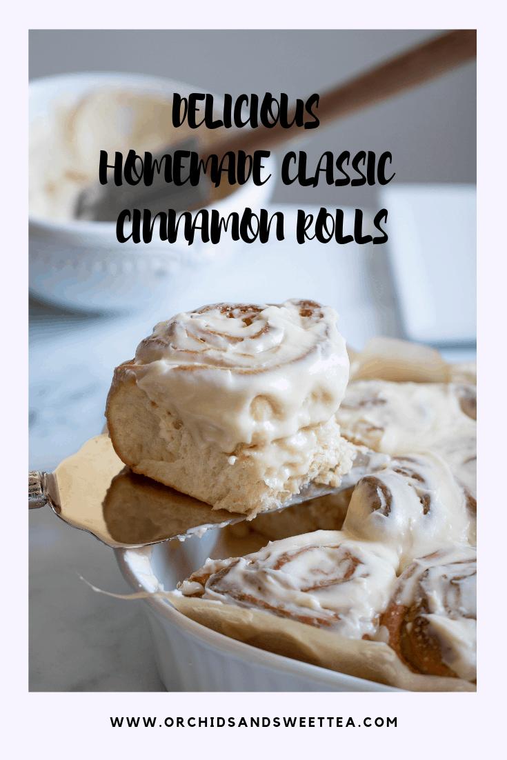 Delicious Homemade Classic Cinnamon Rolls