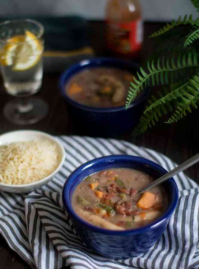 Spicy Vegan Jamaican Stew Peas
