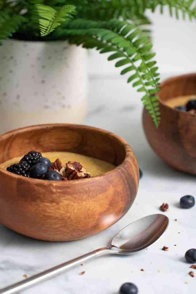 Creamy Jamaican Cornmeal Porridge