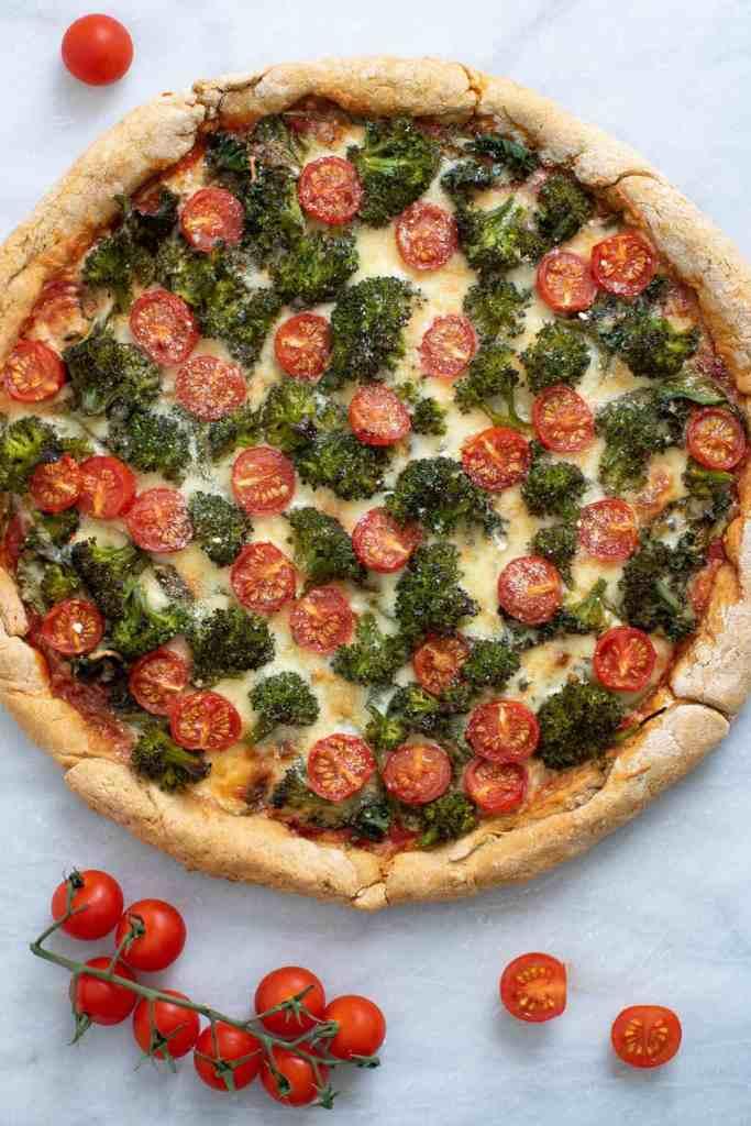 The Ultimate Veggie Pizza