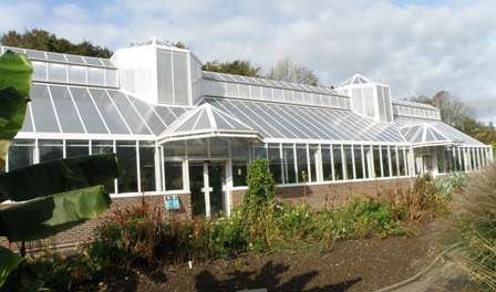 The Tropical House at the National Botanic Garden of Wales