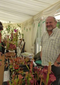 Malcolm Selling his Carnivorous Plants