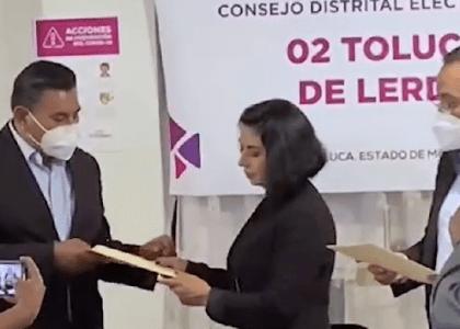 BRAULIO ALVAREZ JASSO YA ES DIPUTADO ELECTO POR EL DISTRITO 2 DE TOLUCA