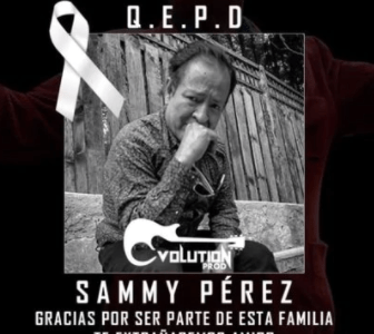 MUERE DE COVID SAMMY PÉREZ