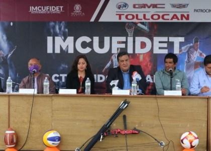 INTENSA ACTIVIDAD DEPORTIVA EN TOLUCA DURANTE OCTUBRE