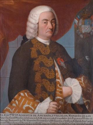 Agustín de Ahumada y Villalón, marqués de las Amarillas