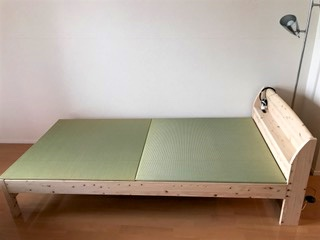 Tatami Futon can we leave the futon on the tatami during the day or will it get