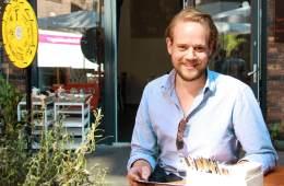 Moritz beim Lunch