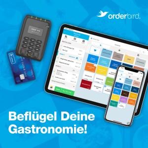 iPad-Kasse von orderbird mit Kartenleser