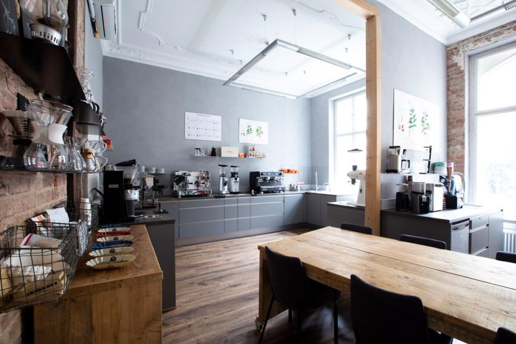 Die Räume der Berlin School of Coffee in Berlin