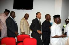 Image result for PDP senators stage walkout after losing member to APC
