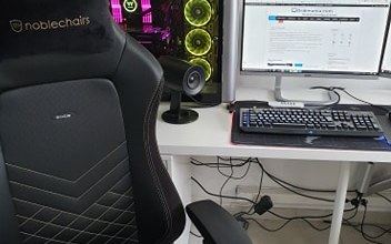 Photo of Test Noblechairs la meilleur chaise de bureau