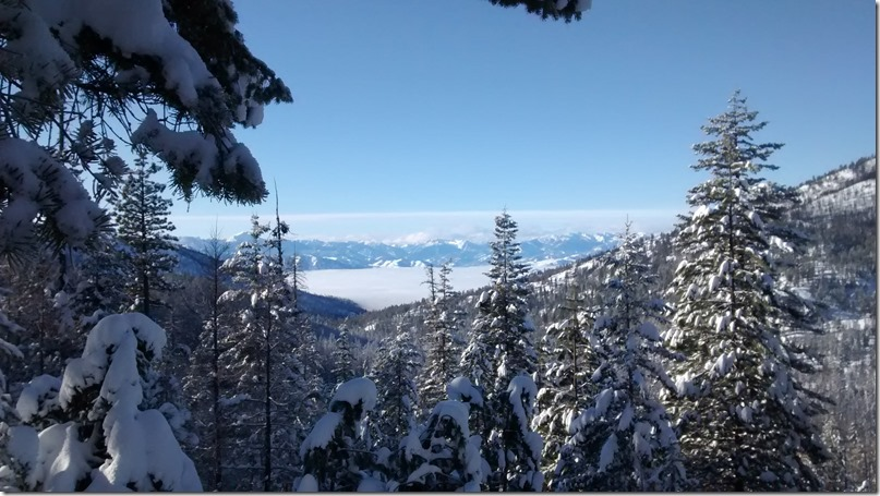 Methow valley affordable cross country skiing loup loup views
