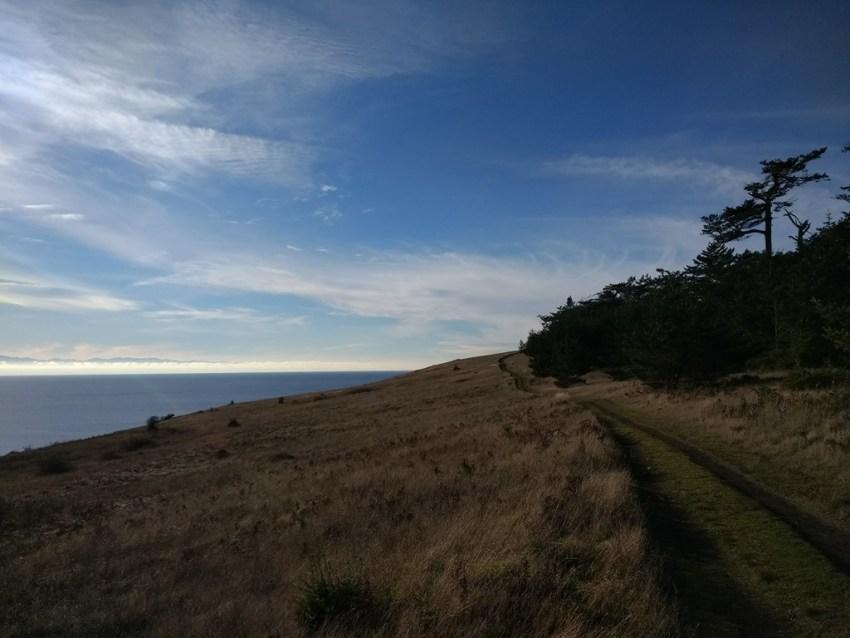 first day hike 2019 mt finlayson san juan island