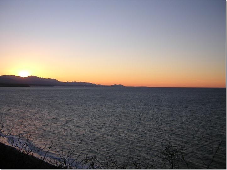 Salish Sea best winter beach walks dungeness spit sunset