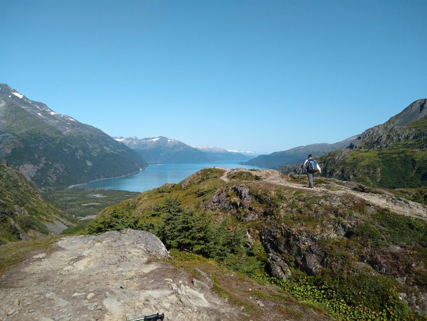 One free thing to do in Alaska is go for a hike! One of the ways to visit Alaska on a budget