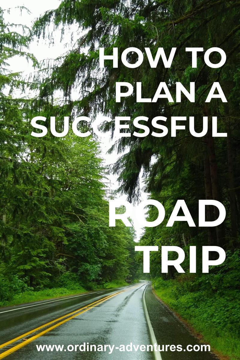 plan a successful road trip