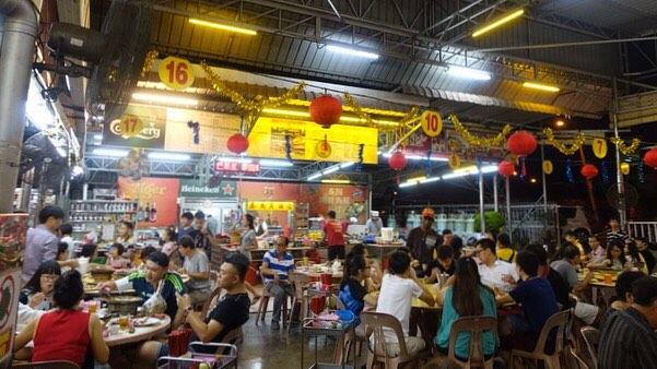 Long Poh Seafood Restaurant (Muar) – Fusion of Thai and Chinese Food