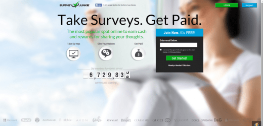 how to make money with paid surveys using survey junkie