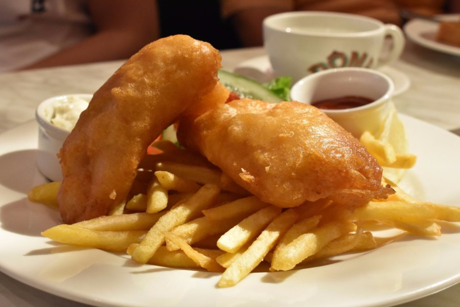 dome cafe johor premium outlet fish and chips
