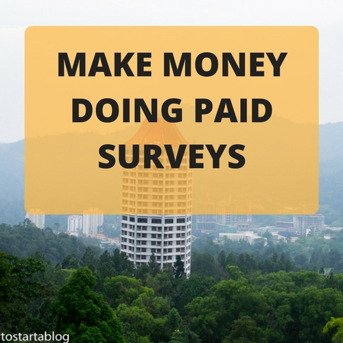 make money with paid survey