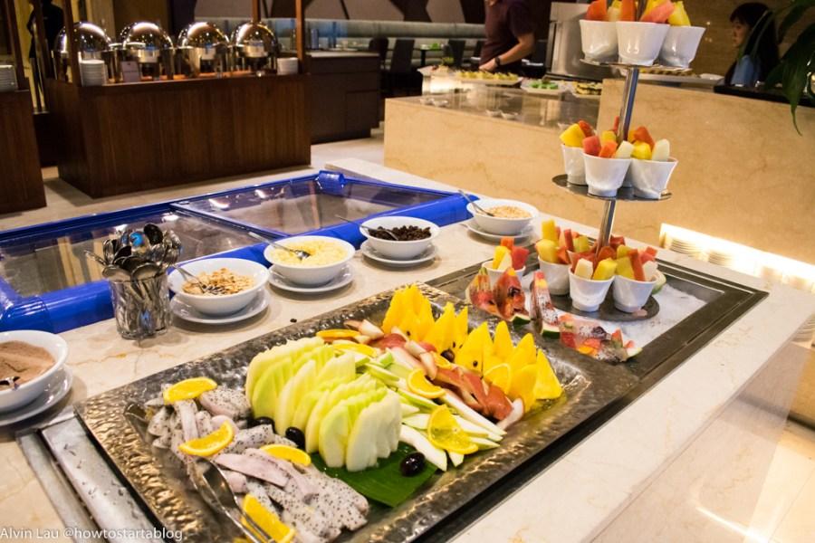 swiss garden buffet dinner fruits