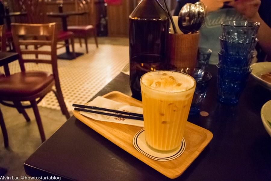 the peninsular tailor cafeteria melaka milk tea