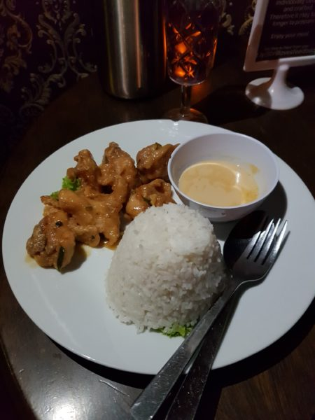 salted egg butter chicken jibril cafe