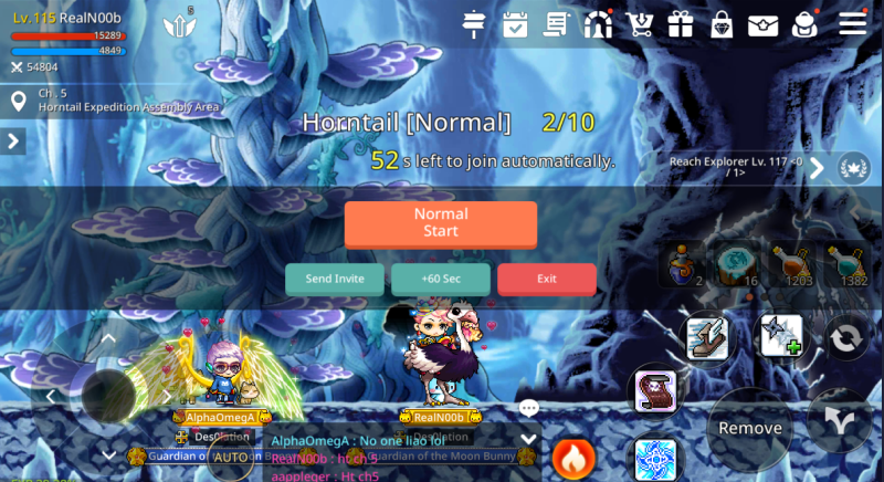 maplestory m horntail guide