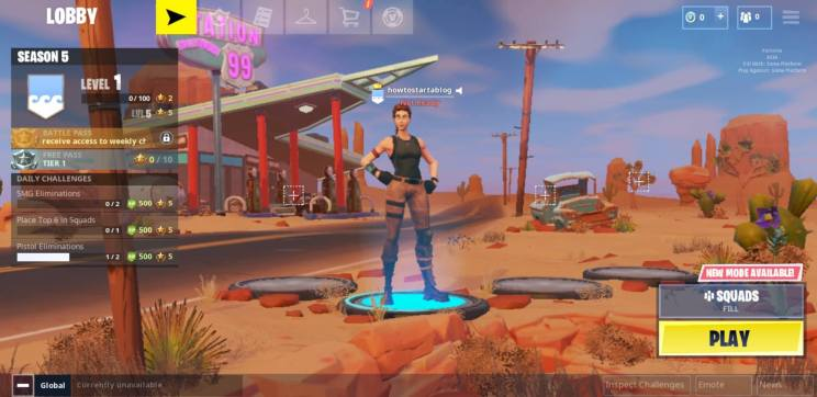 play fortnite on android