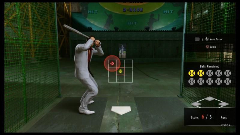 yakuza kiwami 2 earn plates in batting cage