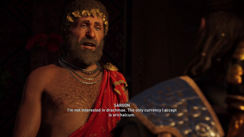 what is orichalcum for in ac odyssey
