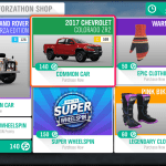 Forza Horizon 4: How To Get Wheelspins And Super Wheelspins