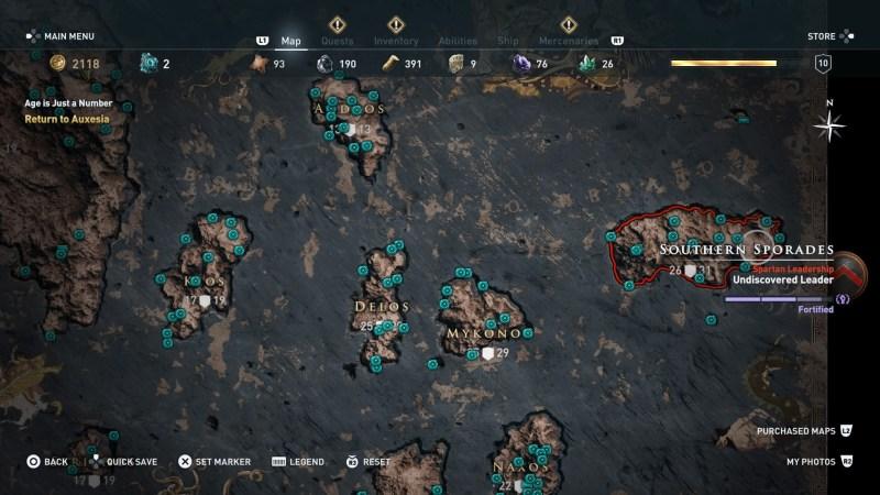full list of orichalcum fragment locations in ac odyssey