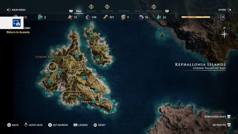 kephallonia islands orichalcum location