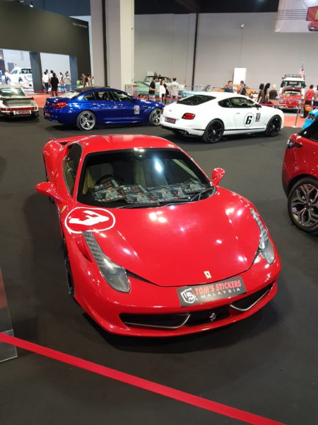 klims 18 photo ferrari