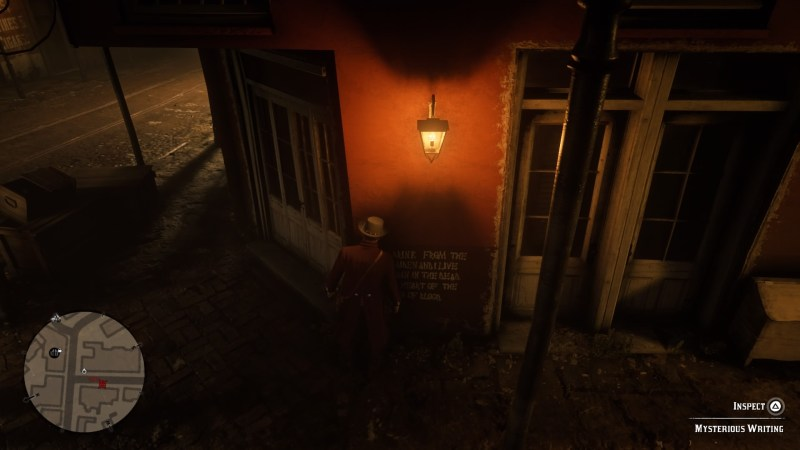 Red Dead Redemption 2 How To Find The Vampire In Saint Denis - Make-your-room-look-like-a-vampires-room