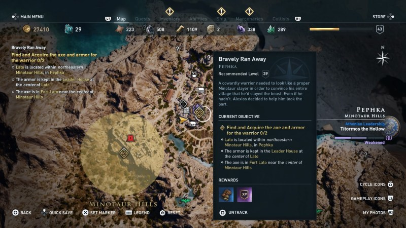 ac-odyssey-bravely-ran-away-quest-walkthrough