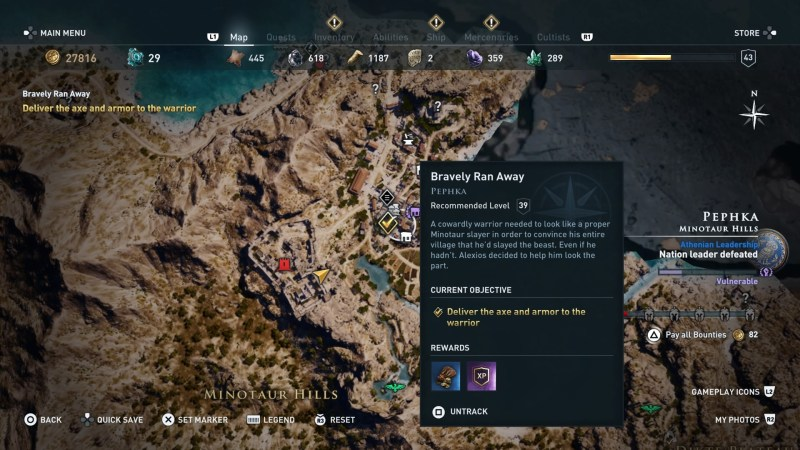 assassins-creed-odyssey-bravely-ran-away-steal-armor