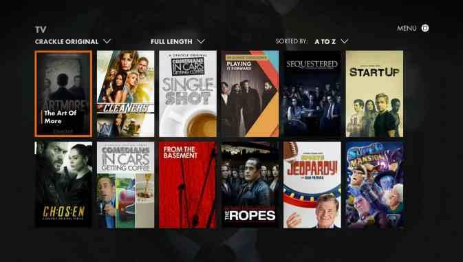 best websites for streaming tv shows 2018